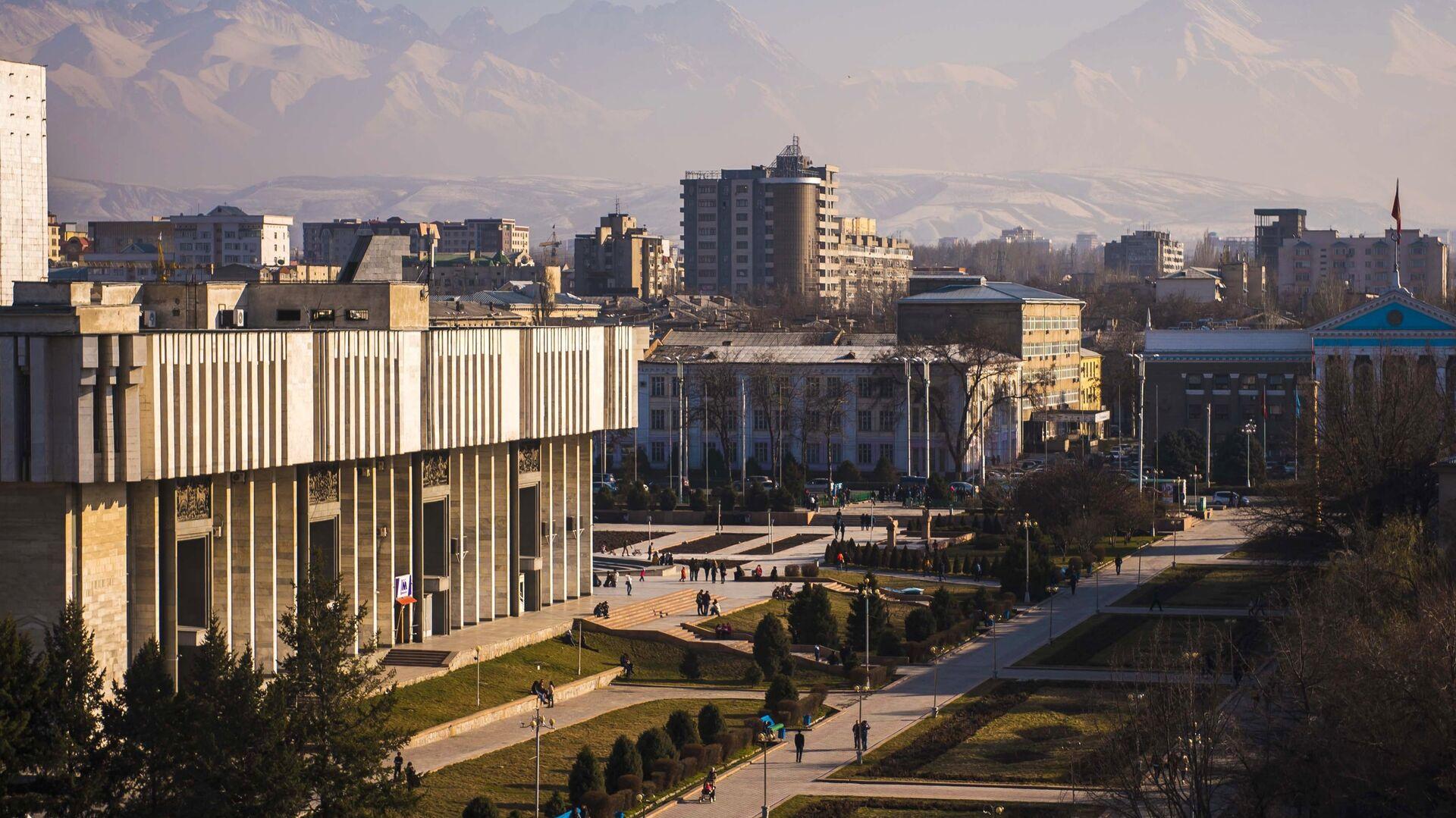 Бишкек - РИА Новости, 1920, 06.10.2020