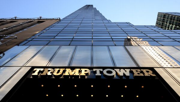 Вид на Трамп-тауэр в Нью-Йорке. Архивное фото