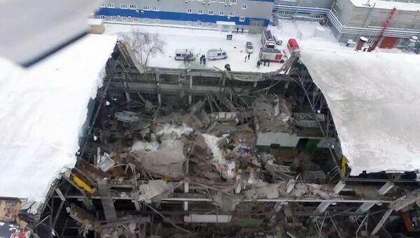 Обрушение кровли цеха на машиностроительном заводе имени Калинина в Екатеринбурге