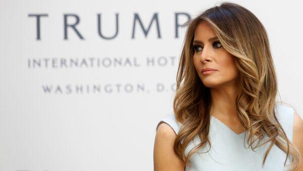 Супруга избранного президента США Дональда Трампа Меланья в Вашингтоне