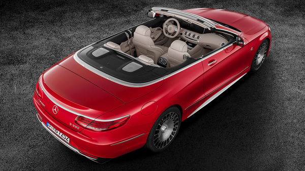 Автомобиль Mercedes-Maybach S650 Cabriolet