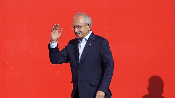 Лидер оппозиционной Народно-республиканской партии Турции Кемаль Кылычдароглу