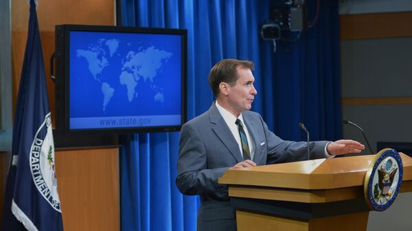 Официальный представитель Государственного департамента США Джон Кирби. Архивное фото