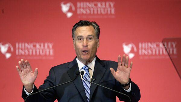 Американский политик Митт Ромни. Архивное фото
