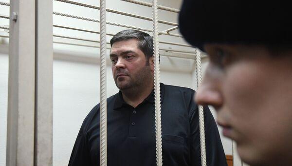 Денис Кошурников в Басманном суде