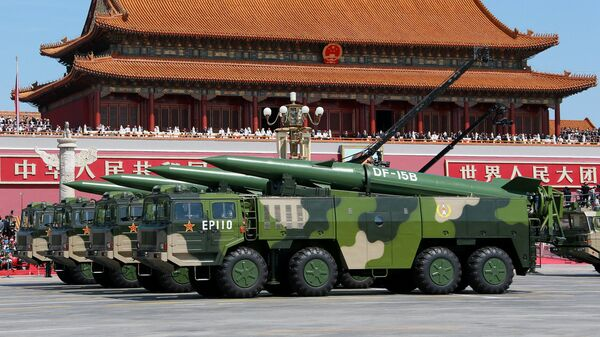 Военная техника Китая. Архивное фото