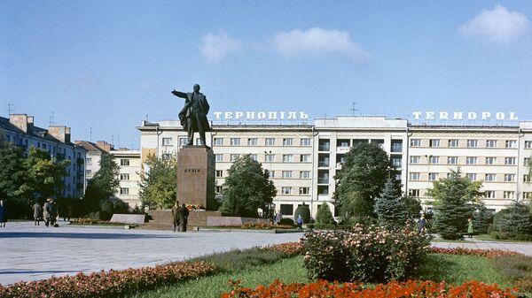 На одной из улиц Тернополя