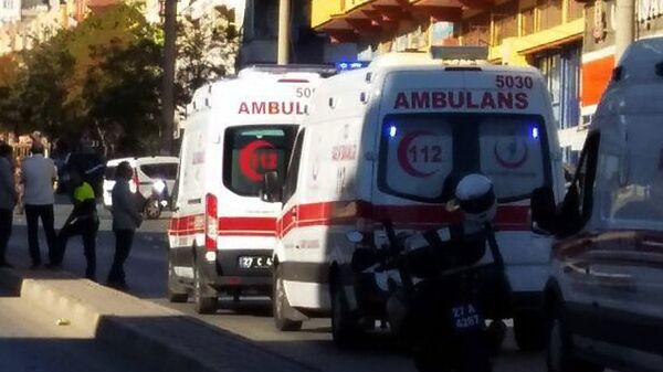 Автомобили скорой помощи Турции