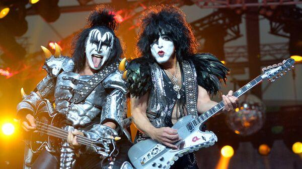 Концерт группы Kiss. Архивное фото