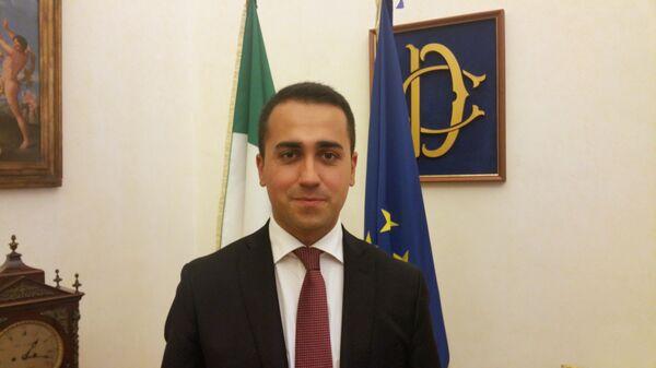 Вице-спикер парламента Италии, один из руководителей влиятельного оппозиционного Движения 5 звезд (Д5З) Луиджи Ди Майо