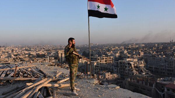 Военный сирийской армии. Архивное фото