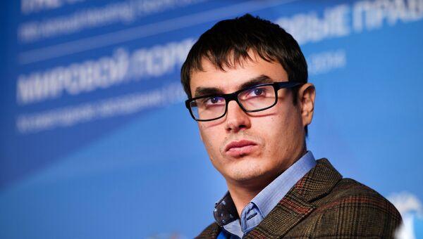 Писатель Сергей Шаргунов. Архивное фото