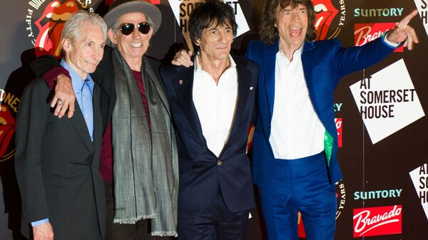 Rolling Stones накануне вечеринки в честь запуска книги Rolling Stones 50