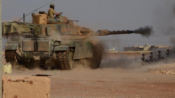 Турецкие войска . Архивное фото