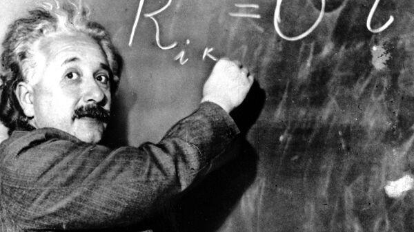 Физик-теоретик Альберт Эйнштейн