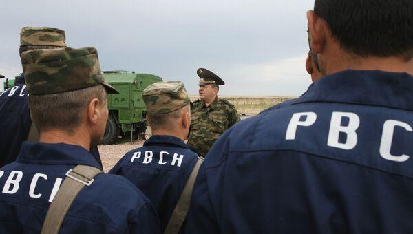 Оренбургская Краснознаменная ракетная дивизия РВСН. Архивное фото