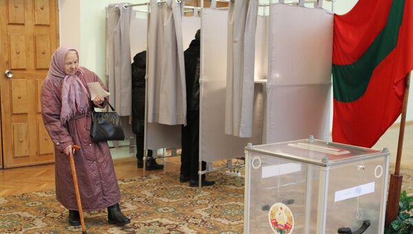 Выборы главы Приднестровья. Архивное фото
