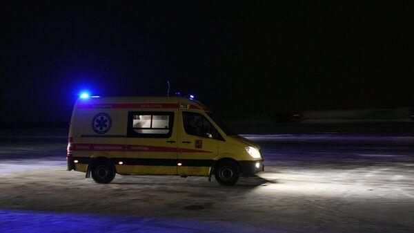 Автомобиль скорой помощи . Архивное фото