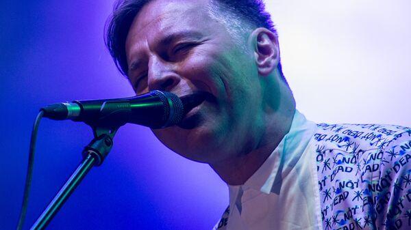 Солист группы Мумий Тролль Илья Лагутенко на фестивале Bosco Fresh Fest в Москве