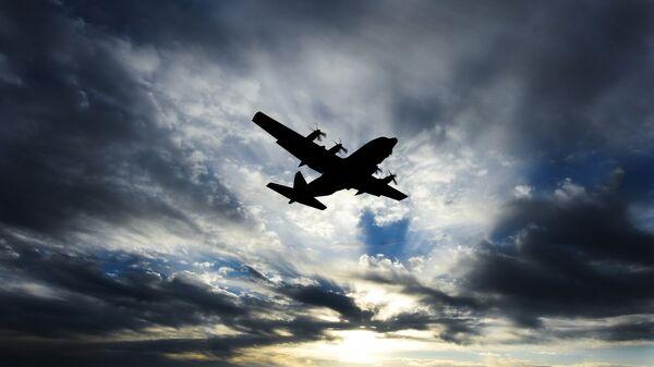 Военно-транспортный самолет С-130 Hercules. Архивное фото