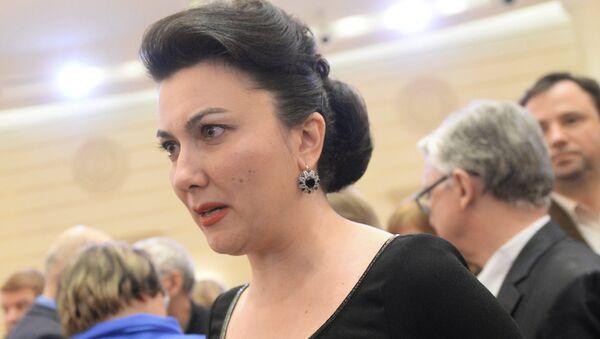 Министр культуры Крыма Арина Новосельская. Архивное фото