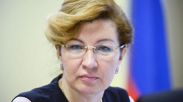 Председатель Федерального фонда ОМС Наталья Стадченко
