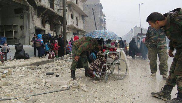 Ситуация в восточном Алеппо. 14 декабря 2016