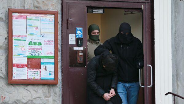 Силовики обезвредили взрывное устройство в многоэтажке на юго-западе Москвы. 15 декабря 2016