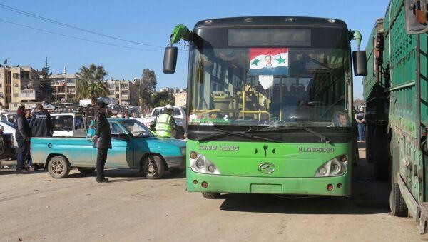Ситуация в Алеппо. Сирия, декабрь 2016. Архивное фото