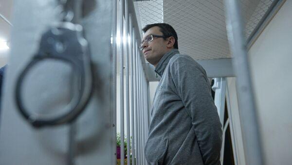 Денис Никандров в суде. Архивное фото