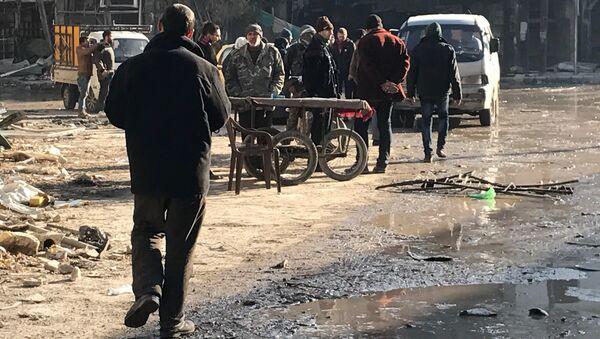 Мирные жители в Сирии. Архивное фото