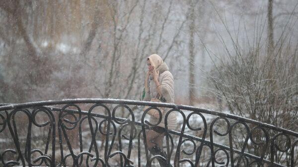На улице в Симферополе. Архивное фото