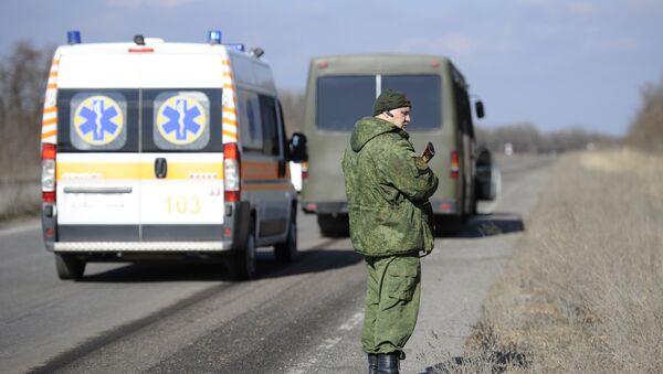 Обмен пленными между ЛНР и Киевом. Архивное фото