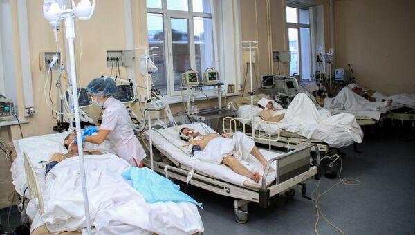 Реанимация Иркутской городской клинической больницы №3. Архивное фото