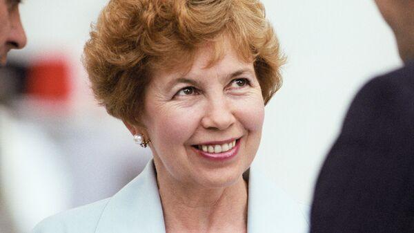 Раиса Максимовна Горбачева. 1989 год