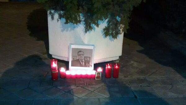 Свечи памяти зажгли жители Мадрида. 20 декабря 2016