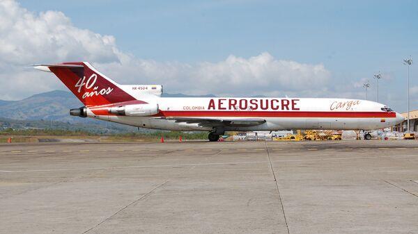 Грузовой самолет Boeing 727 компании Aerosucre