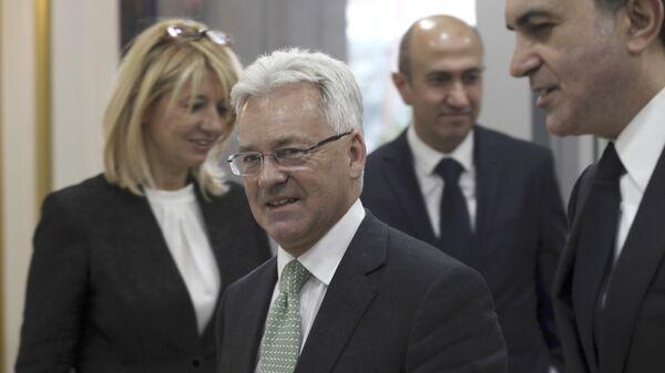 Заместитель министра иностранных дел Великобритании Алан Дункан