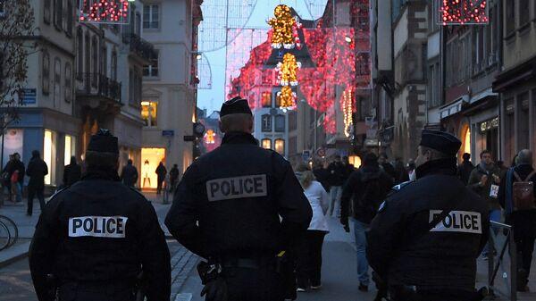 Сотрудники полиции в Страсбурге