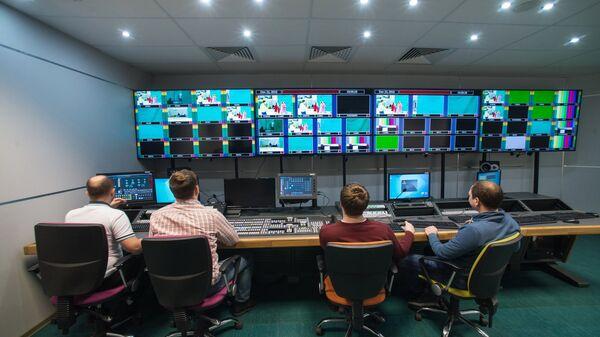 Новый телевизионный павильон телеканала 360