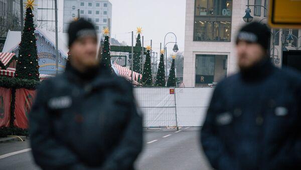 Ситуация на месте теракта в Берлине. Архивное фото