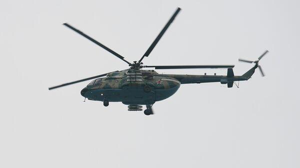 Вертолёт Ми-8. Архивное фото