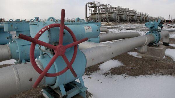 Газохранилище Черноморнефтегаз в Крыму