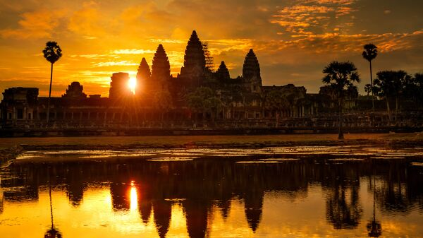 Ангкор-Ват, Камбоджа. Архивное фото