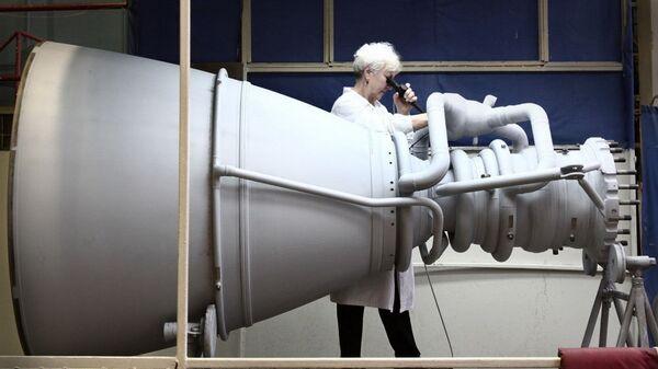 Ракетный двигатель в НПО Энергомаш. Архивное фото