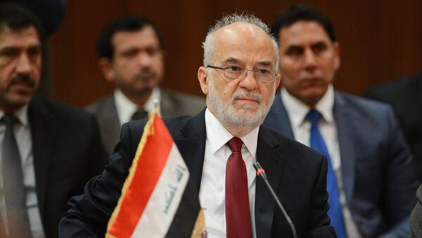 Министр иностранных дел Ирака Ибрагим аль-Джаафари. Архивное фото