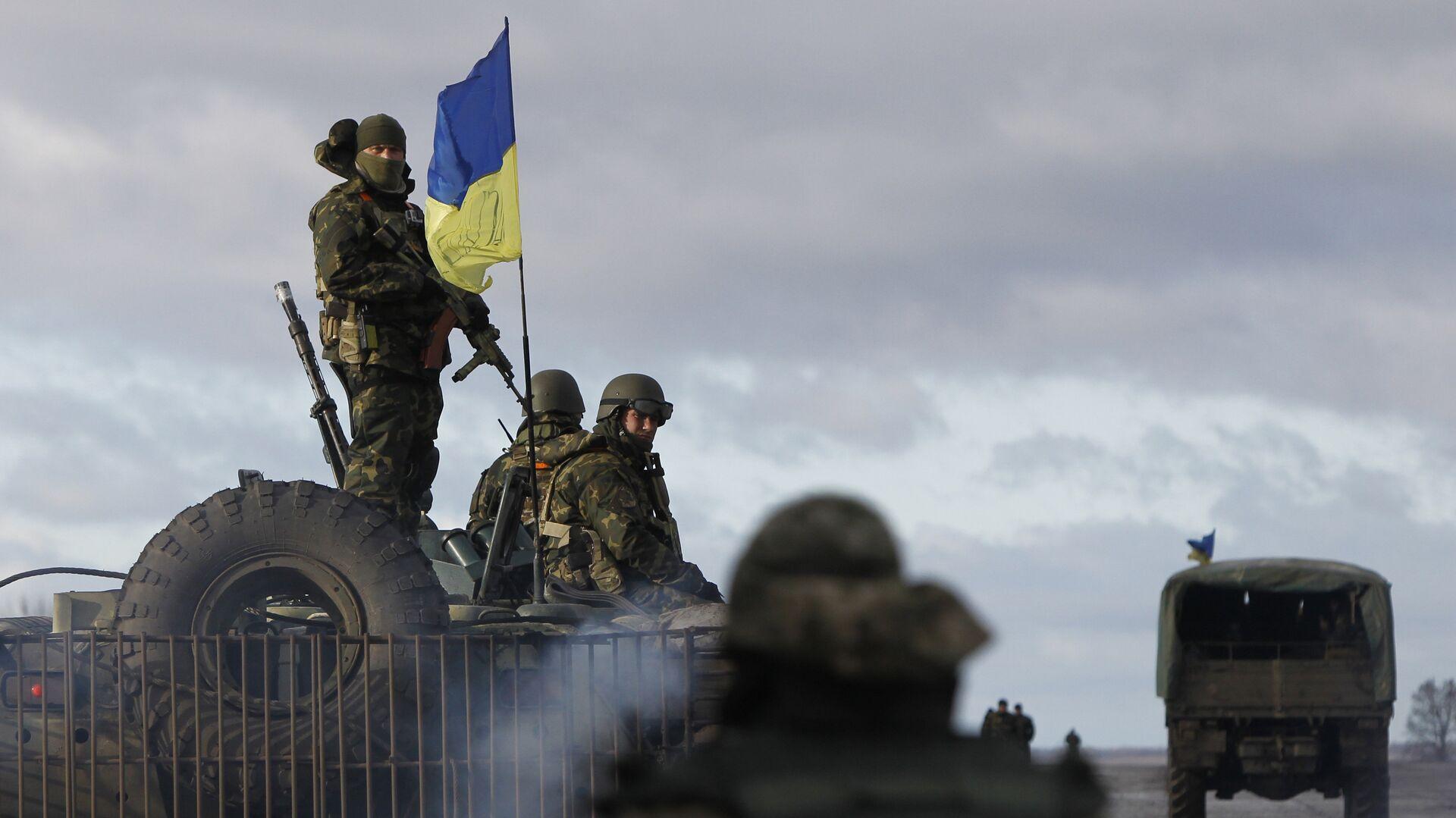 Украинские военные в Донецкой области - РИА Новости, 1920, 11.03.2021