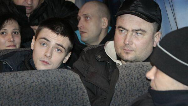 Возвращенные украинскими военными пленные ДНР и ЛНР. Архивное фото