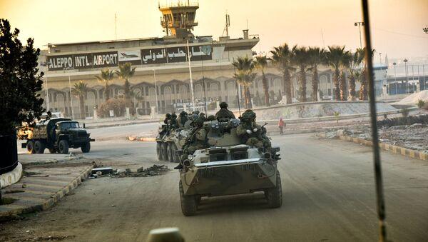 Российские военнослужащие в Сирии. Архивное фото