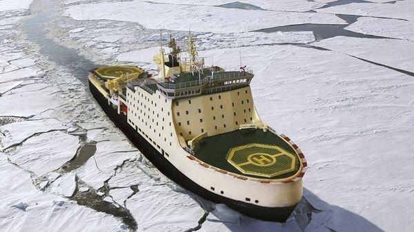 Проект дизельного ледокола проекта 22600 ЛК-25 Виктор Черномырдин